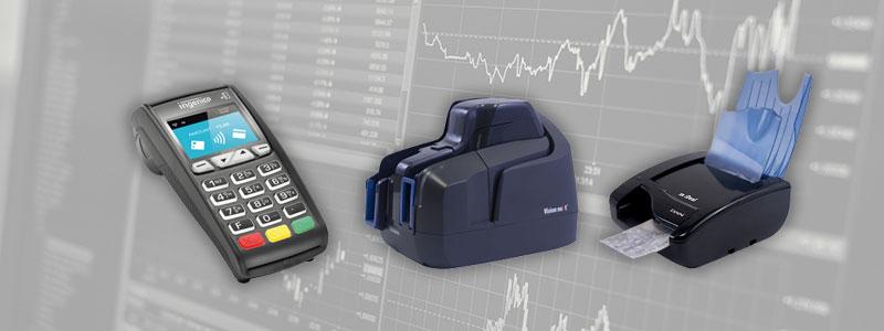 software finanziario POS lettore assegni scanner stampanti
