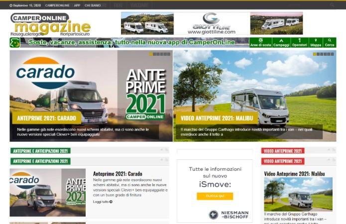 Magazine Camperonline
