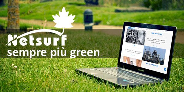 Netsurf sempre più green